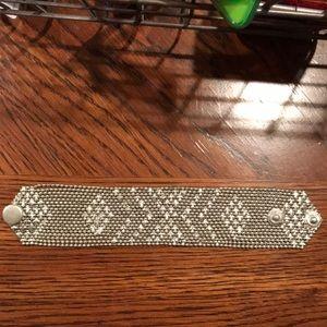 Steve Madden chain, metal bracelet
